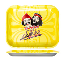 Load image into Gallery viewer, Cheech & Chong - 40Th Anniversary - Small, Medium, or Large Tray - Yellow (1 Count)