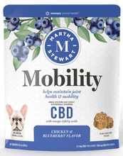 Load image into Gallery viewer, MARTHA STEWART MOBILITY BAKED DOG CHEW 330MG - SMALL/MEDIUM - 11MG X 30CT