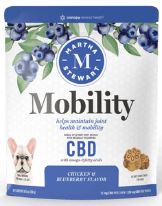 MARTHA STEWART MOBILITY BAKED DOG CHEW 330MG - SMALL/MEDIUM - 11MG X 30CT