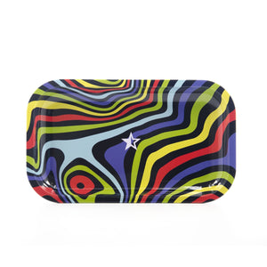 Famous Design Amnesia Rolling Tray - Small or Medium Tray - (1 Count)
