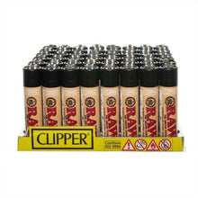 Load image into Gallery viewer, Clipper Raw Lighters (48 Count) - Lake shore vibe