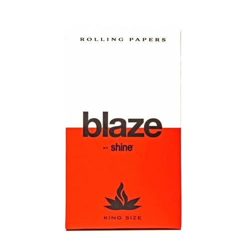 Blaze by Shine Hemp Rolling Papers - King Size 32-Sheet Pack - Lake shore vibe