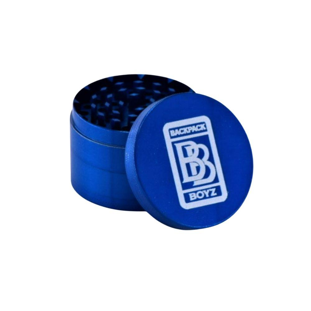 BACKPACKBOYZ 4 Part 60mm Aluminum Grinder - Various Colors - (1 Count) - Lake shore vibe