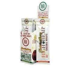High Hemp Organic Wraps Blazin' Cherry (25 Count) - Lake shore vibe