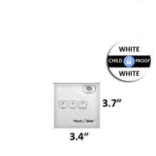 "Load image into Gallery viewer, Mylar Pinch N Slide Exit Bags ASTM Child Resistant 3.4"" x 3.7"" - 1 Gram - White (50, 100, or 250 Count)"