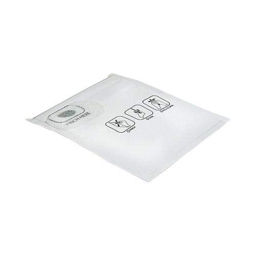 "Mylar Pinch N Slide Exit Bags ASTM Child Resistant 3.4"" x 3.7"" - 1 Gram - White (50, 100, or 250 Count) - Lake shore vibe"