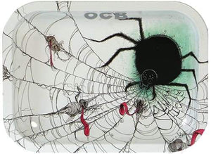 OCB Rolling Tray - Spider (Small, Medium or Large) (1 Count)