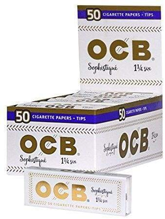 OCB SOPHISTIQUE 1 1/4 SIZE PAPERS + TIPS (24 Count) - Lake shore vibe