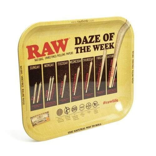 Raw Daze Tray Large (1 Count) - Lake shore vibe