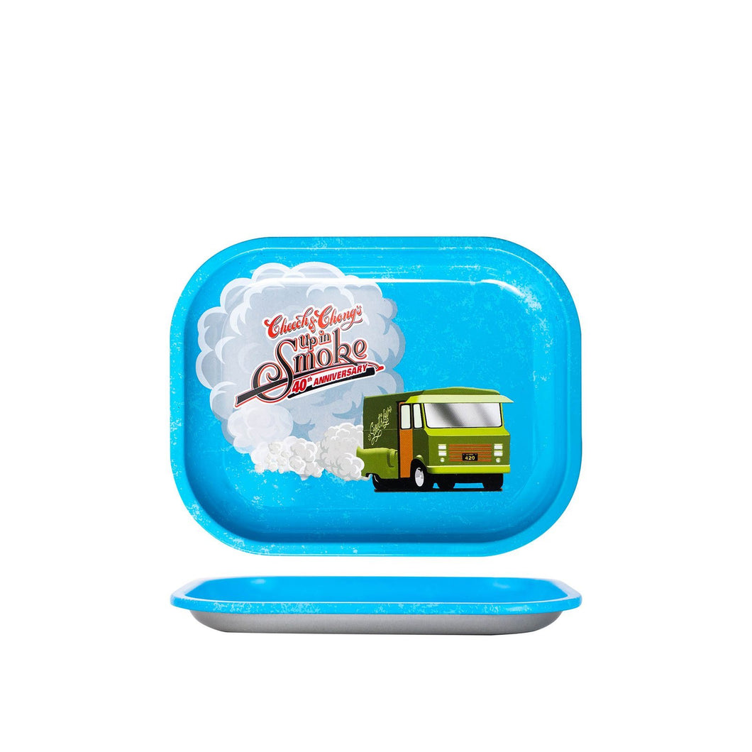 Cheech & Chong - 40Th Anniversary - Small, Medium, or Large Tray - Blue - (1 Count)