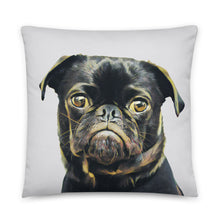 Load image into Gallery viewer, dog picture pillow dog moms