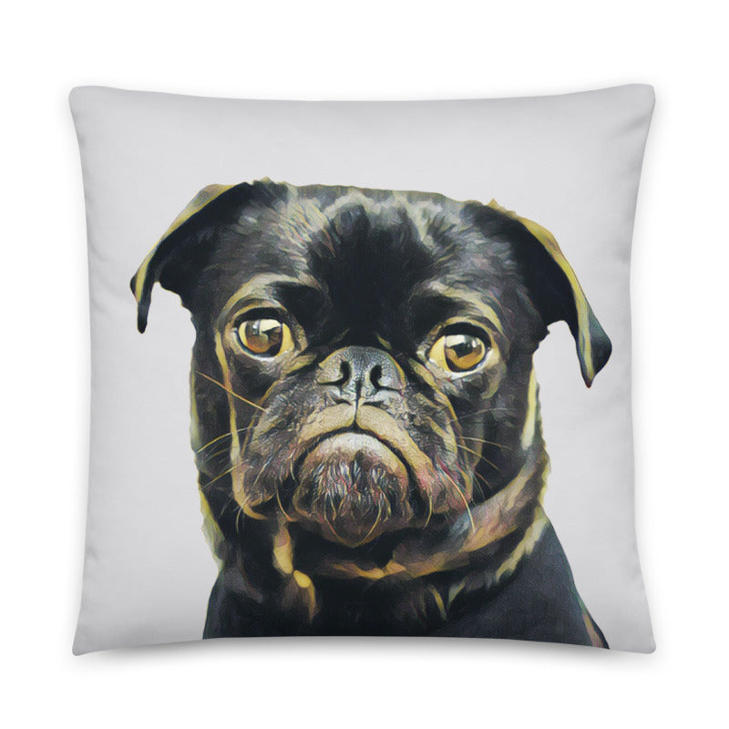 dog picture pillow dog moms