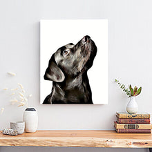 Load image into Gallery viewer, custom dog painting