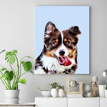 Load image into Gallery viewer, custom pet portrait