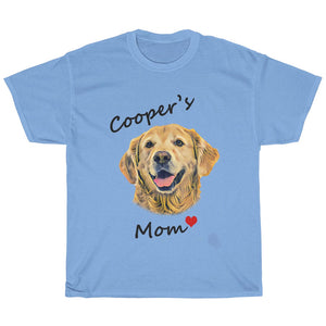 custom dog t shirt for dog moms