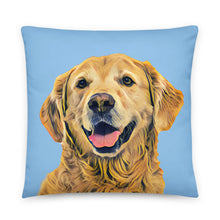 Load image into Gallery viewer, gifts for dog lovers custom dog pillow case