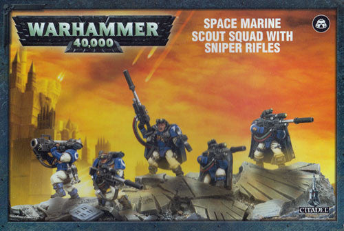 Warhammer 40K: Space Marine Scouts with Sniper Rifles | Asgards Gate