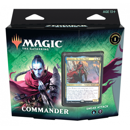 Zendikar Rising [Sneak Attack] Commander Pre-con | Asgards Gate