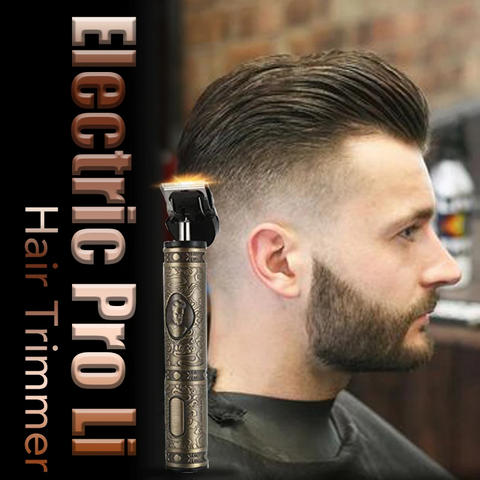 ($29.99 ONLY FOR TODAY)Electric Pro Li Outliner Grooming Rechargeable Cordless Close Cutting T-Blade Trimme