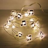 Music Notes String Light