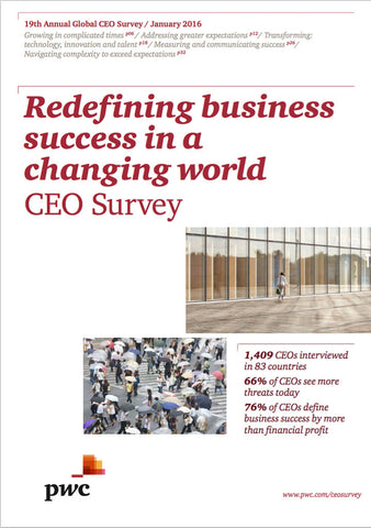 Undersökning: 19th Annual Global CEO Survey
