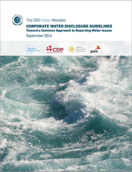 Rapport: Water disclosure guidelines for business
