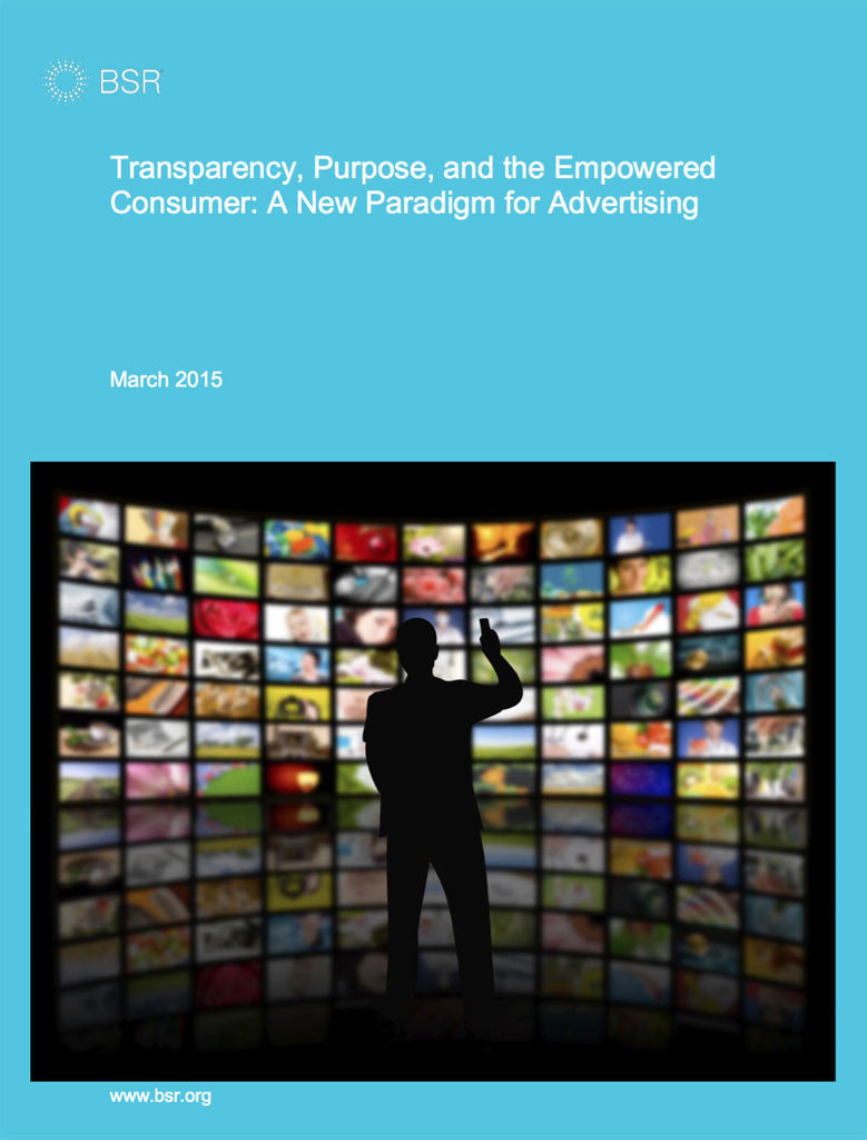 Rapport: Transparency, Purpose, and the Empowered Consumer: A New Paradigm for Advertising
