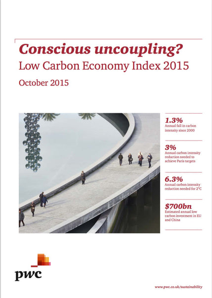 Undersökning: Conscious uncoupling? Low Carbon Economy Index 2015