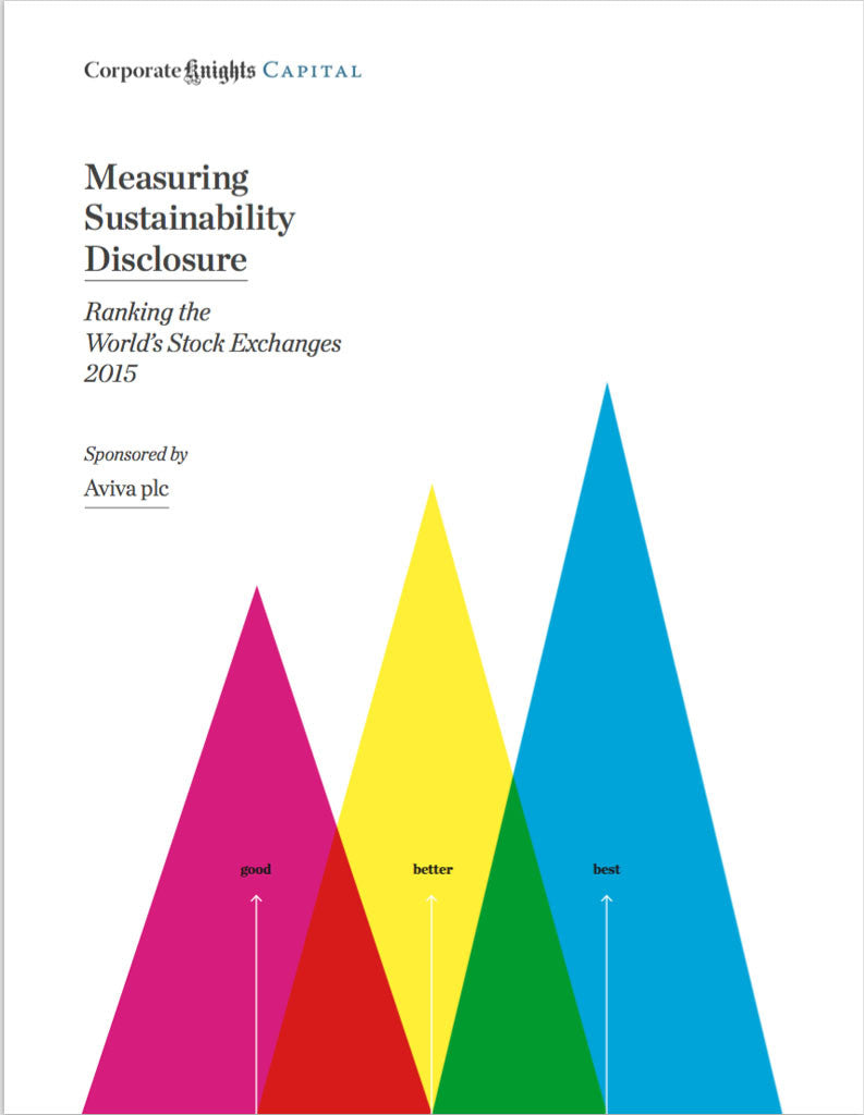 Rapport: Measuring Sustainability Disclosure 2015