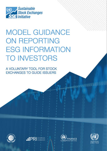 Guide: Model guidance on reporting ESG to investors