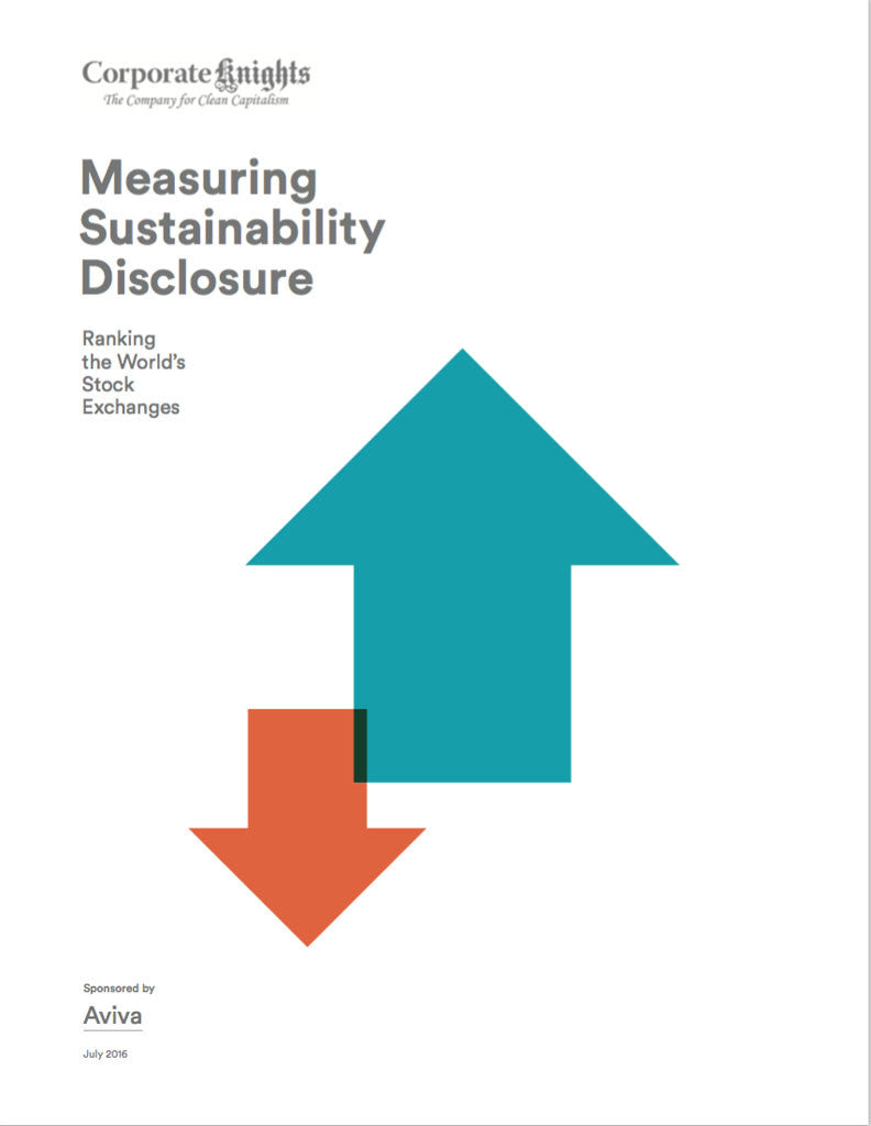 Rapport: Measuring Sustainability Disclosure 2016