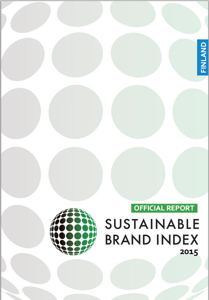 Undersökning: Sustainable Brand Index 2015 - Finland