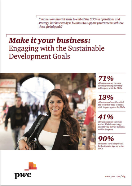 Rapport: Engaging with the Sustainable Development Goals