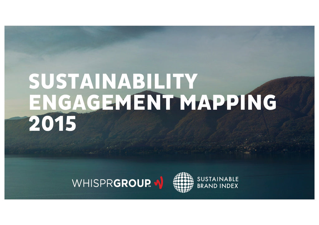 Undersökning: Sustainability Engagement Mapping 2015