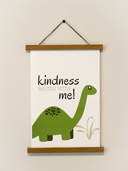Kindness Begins With Me - Dinosaur