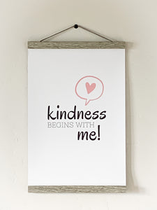 Kindness Begins With Me - Heart