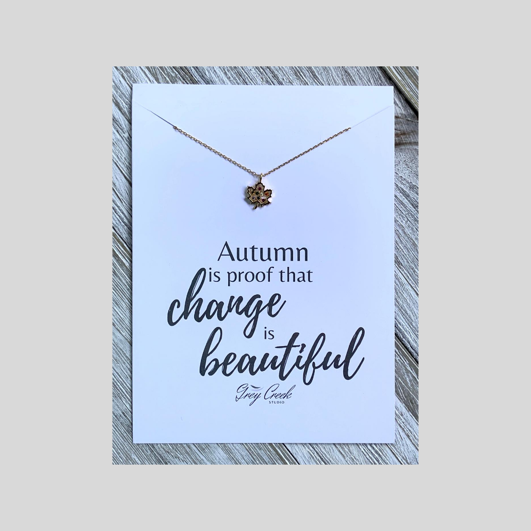 Change Is Beautiful Necklace
