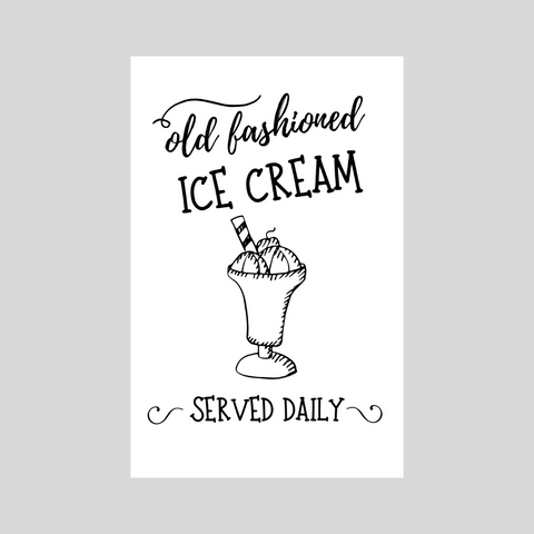 Old Fashioned Ice Cream