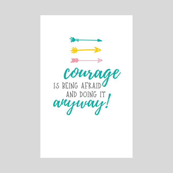 Courage - Turquoise