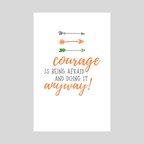 Courage - Orange