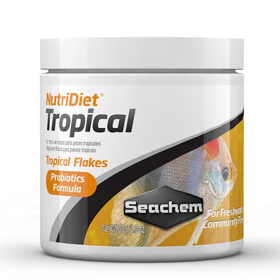 Seachem NutriDiet Tropical Probiotic Flake
