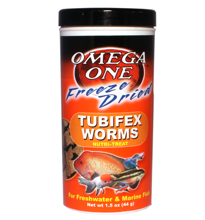Omega One Freeze Dried Tubifex