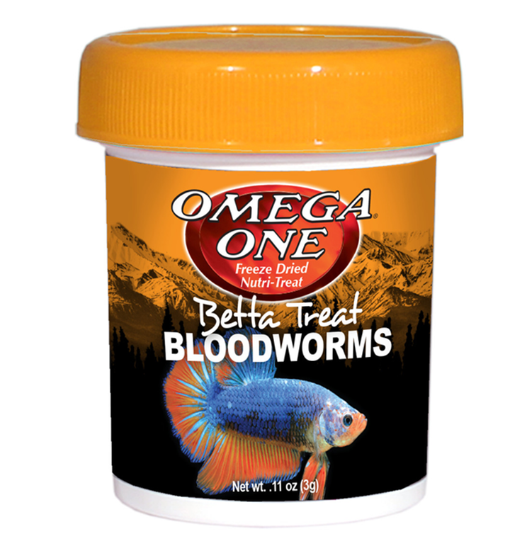 Omega One Betta Treat Bloodworms