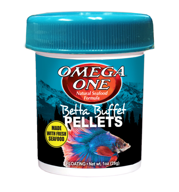Omega One Betta Pellets