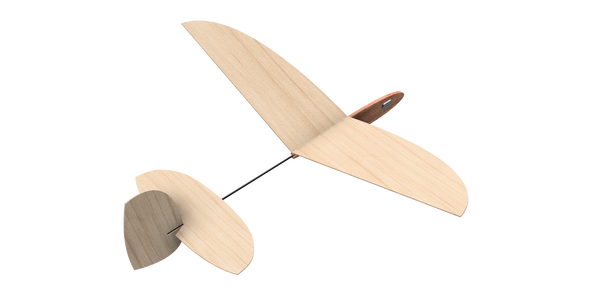 Pup Free flight Glider Kit