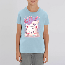 Charger l'image dans la galerie, CHAT CARTOON T-SHIRT ENFANT