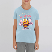 Charger l'image dans la galerie, ABEILLE BE CRAZY CARTOON T-SHIRT MIXTE ENFANT