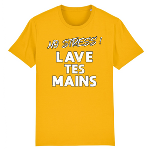 Covid-19 No Stress Lave Tes Mains T-shirt humour
