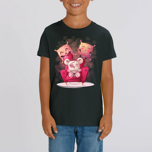 OURSON CARTOON T-SHIRT MIXTE ENFANT