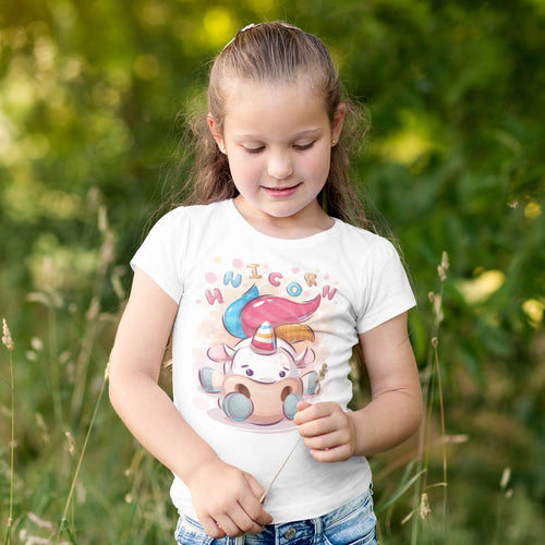 LICORNE CARTOON T-SHIRT ENFANT